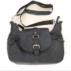 Kelly Moore Camera Bag Black Hobo Crossbody